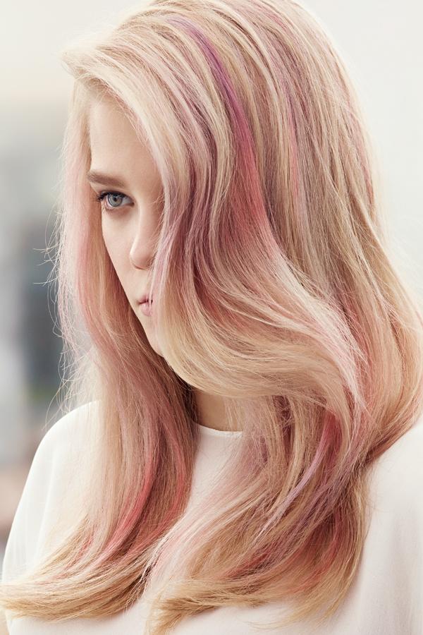Цвет пастельный волос