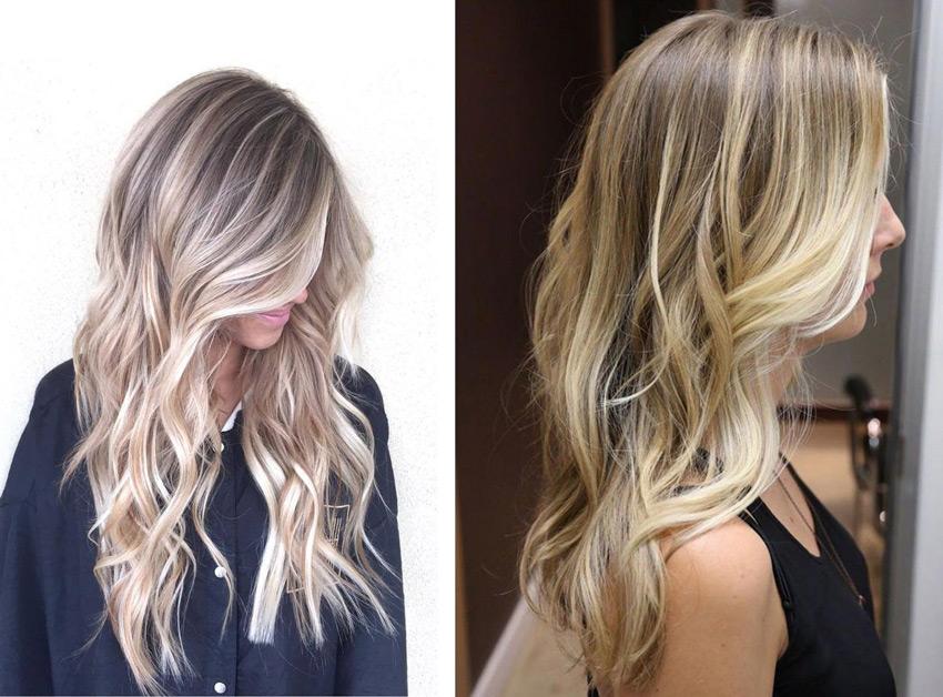 Как сделать светлые пряди на светлых волосах 961