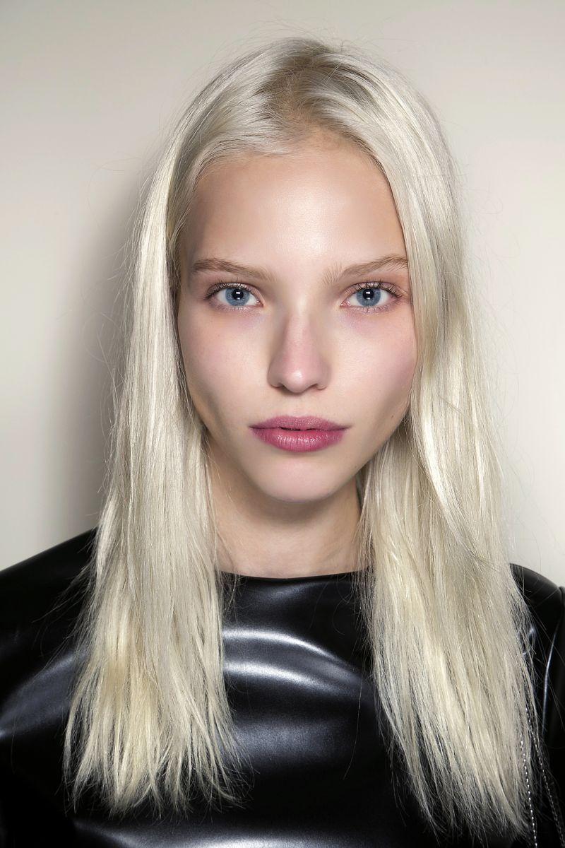Платиновый цвет волос фото